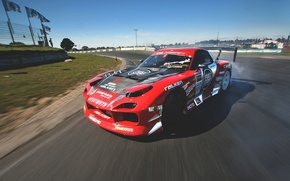 Picture race, skid, drift, mazda, rx7, race, Mazda, slide, drifting