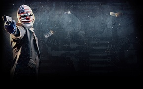 Picture Dallas, heist, Payday 2, payday