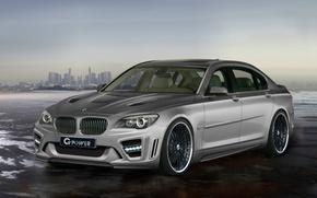 Wallpaper BMW, Storm, G-Power, 760i