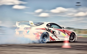 Picture drift, Toyota, Supra, autosport, JDM, Energo5