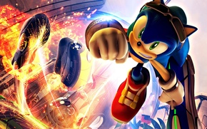 Picture The explosion, Sonic, IEG