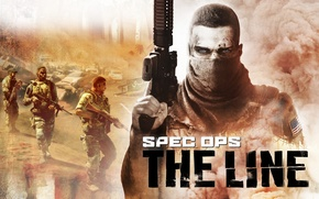Picture weapons, soldiers, Spec Ops : The Line