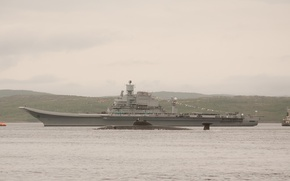 Picture the carrier, Russia, Kuznetsov, Admiral