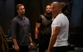 Picture VIN Diesel, Paul Walker, Dwayne Johnson, Vin Diesel, Paul Walker, Dwayne Johnson, Dominic Toretto, Brian …