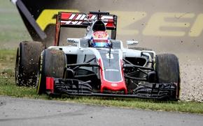 Picture Romain Grosjean, R8man, Haas