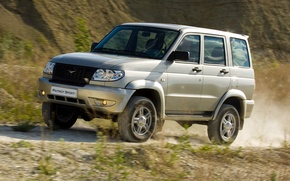 Picture nature, background, SUV, the roads, car, 4x4, off-road, Uaz, Patriot, UAZ patriot, UAZ