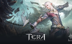 Picture Girl, Ruins, Elf, Tera, Tera Online, High Elves, Archer