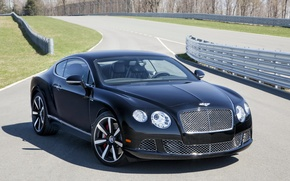 Picture machine, Wallpaper, Bentley, car, the front, handsome, Continental GT Speed, The Le Mans Edition
