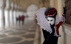 Wallpaper mask, background, The carnival of Venice