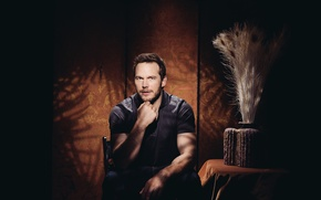 Wallpaper photographer, actor, twilight, photoshoot, Chris Pratt, for the film, Jurassic world, Jurassic World, Chris Pratt, ...