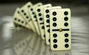 Picture macro, the game, Domino