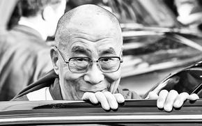 Picture face, smile, The Dalai Lama, The Dalai Lama