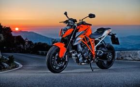 Picture moto, road, KTM, power, orange, Super, naked, Beast, Duke, 1290