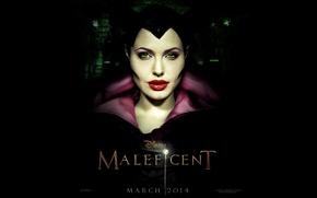 Picture Angelina Jolie, Angelina Jolie, 2014, Maleficent, Maleficent