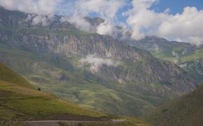 Picture landscape, mountains, nature, rocks, beautiful, the Caucasus