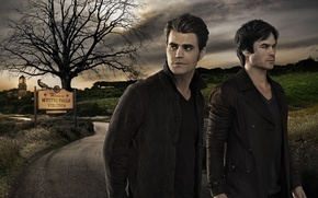 Picture City, House, The Vampire Diaries, Darkness, Tree, Palace, Men, Ian Somerhalder, The, Family, Vampire, Diaries, …