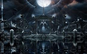 Wallpaper panorama, Nightwish, album 2011, imaginaerum