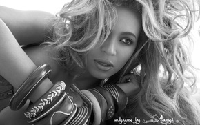 Picture girl, black and white, beyonce, Beyonce, African-American, Knowles