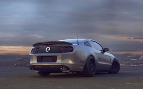 Picture Mustang, Ford, Shelby, Auto, Ass, Ford, Mustang, Car, GT 500, Shelby, Drag