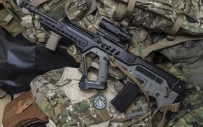 Picture weapons, machine, rifle, assault, Tavor, TAR-21