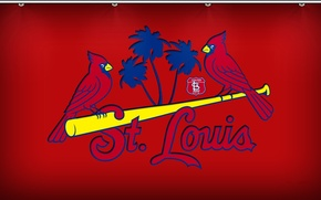 Picture wallpaper, baseball, cards, MLB, St louis