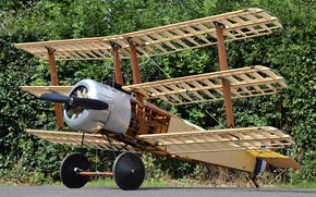 Wallpaper The first world war, RAF, fighter-Triplane, 140 Sopwith Triplane, times