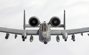 Picture Thunderbolt II, cabin, The thunderbolt II, the sky, attack, A-10C