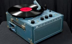 Picture vinyl, phonograph, Califone 1455K