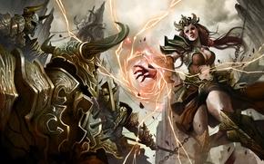 Picture diablo 3, wizard, The enchantress, Diablo III Reaper of Souls