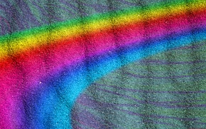 Picture abstraction, carpet, color, rainbow, pile