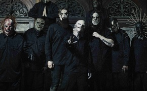 Picture Slipknot, Nu metal, Groove, Corey Taylor, Sid Wilson, Chris Fehn, Craig Jones, Shawn Crahan, Jay …