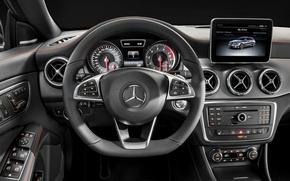 Picture Mercedes Benz, AMG, Sports, 4MATIC, 2015, CLA250, OrangeArt