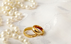 Picture ring, pearl, wedding, background, ring, soft, wedding, lace, perls
