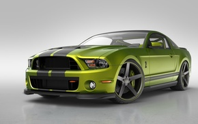 Picture car, auto, Ford mustang