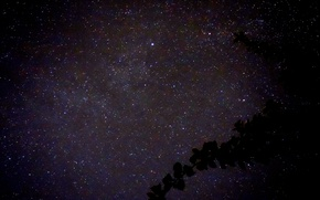 Picture the sky, stars, night