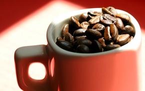 Wallpaper macro, mug, coffee, background