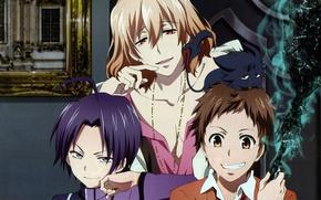 Picture anime, art, guys, Servamp, Servant vampire