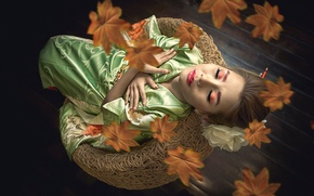 Picture leaves, makeup, East, Fashion Asia, Fashion World, Asian Lipstick Queens