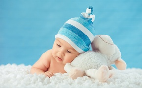 Picture hat, toy, child, baby, baby, baby, kid, Infants