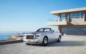 Picture landscape, Rolls-Royce, convertible, limousine, rolls Royce