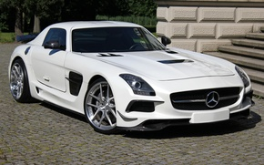 Picture Mercedes-Benz, AMG, SLS, Black Series, Design by SGA Aerodynamics 2014, (C197)