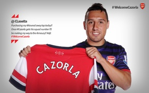 Picture Arsenal, welcome, Arsenal, Santi Cazorla, the best team in the world, Santiago Cazorla