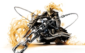 Wallpaper Ghost rider 2, racer, Spirit of Vengeance, Ghost, Ghost Rider