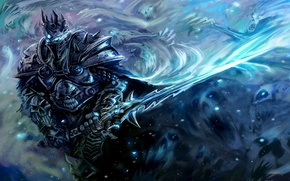 Picture sword, armor, warcraft, wow, arthas, Warcraft