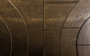 Picture surface, metal, rust, rivets