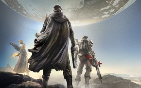 Picture The sky, Look, Light, Earth, Magic, Weapons, Cloak, Bungie, Activision, Destiny, Equipment, Destiny, Destiny, Bungie ...
