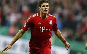Picture Sport, Bayern, Football, Football, Player, Player, Mario Gomez, Mario Gómez García, FC Bayern Munich