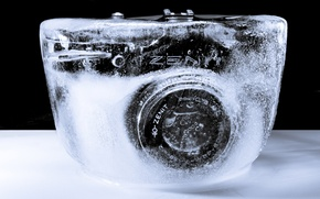 Wallpaper Zenit, the camera, ice