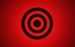 Wallpaper color, target, ring, round, fabric