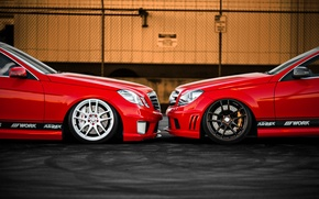 Picture car, mercedes, Mercedes, tuning, rechange, C350, E350